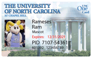 UNC One Card